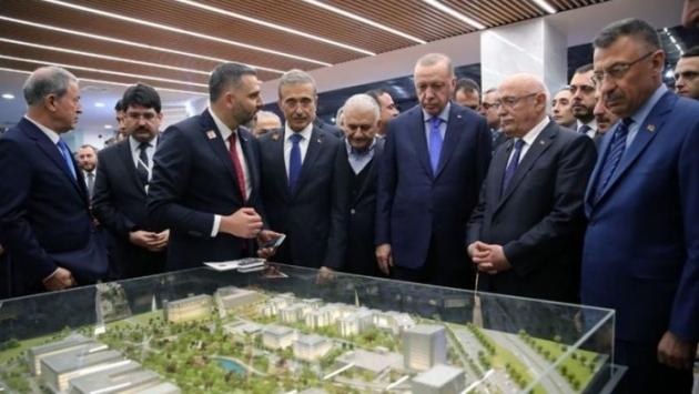 Erdoğan dün açılış yapmıştı, bugün Teknopark'ta işçiler direnişte
