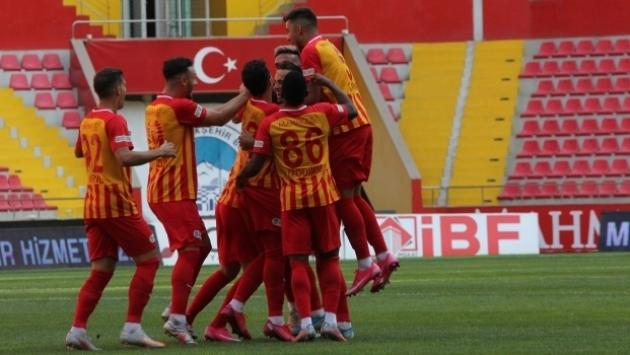 Kayserispor tek golle kazandı