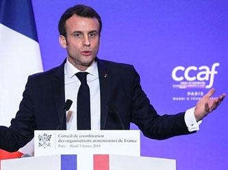 Macron'dan Türkiye ve Rusya'ya suçlama: 'Fransa karşıtlığını körüklüyorlar'