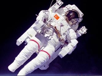 Ona astronot deme 'Cacabey' de!