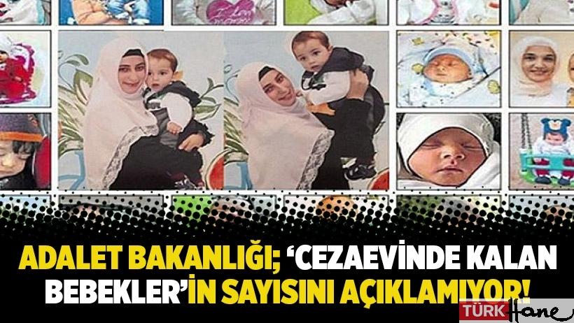 Adalet Bakanlığı; 'cezaevinde kalan bebekler'in sayısını açıklamıyor!