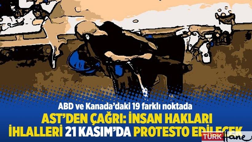 AST'den çağrı: İnsan hakları ihlalleri 21 Kasım'da protesto edilecek