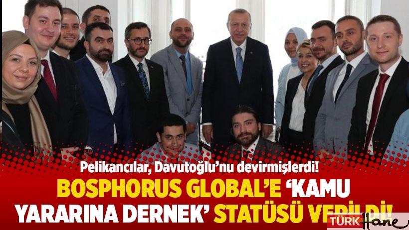 Bosphorus Global'e 'kamu yararına dernek' statüsü verildi