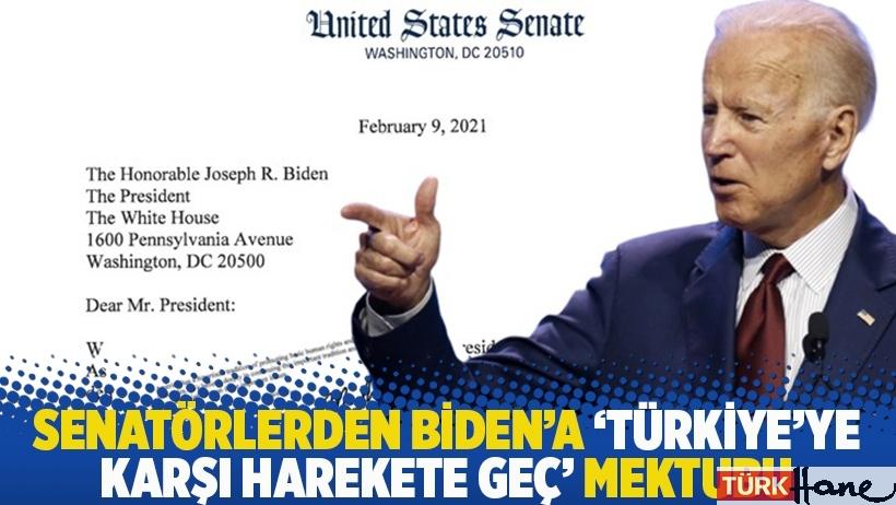 Senatörlerden Biden'a 'Türkiye'ye karşı harekete geç' mektubu