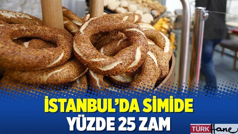 İstanbul'da simide yüzde 25 zam