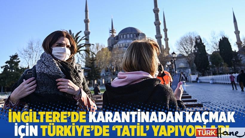 İngiltere'de karantinadan kaçmak için Türkiye'de 'tatil' yapıyorlar!