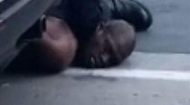 ABD'de dehşet anları… Polis şüpheliyi boğarak öldürdü