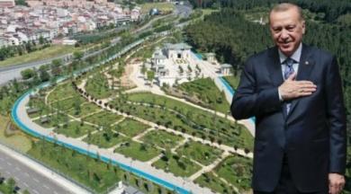 Millet Bahçesi olacak arazide rezidans yükseliyor