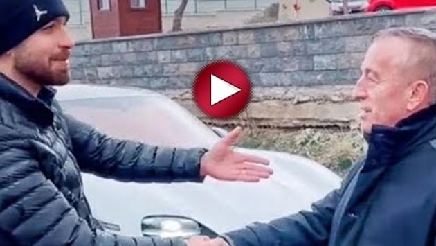 Ali Ağaoğlu'nun tepki çeken 'pazarlık' görüntüleri