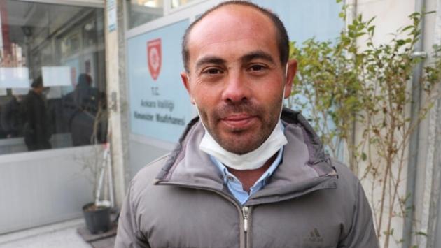 Cezası iptal edilen Ali Çiftçi, memleketi Ankara'ya gönderildi