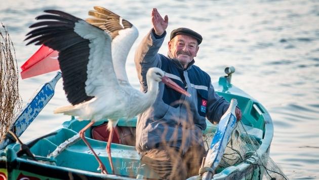 Yaren Leylek ve balıkçı Adem 10. yılda da buluştu