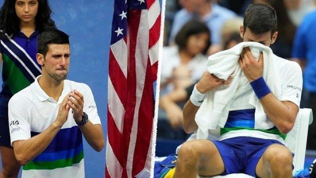Tarihe geçme fırsatını kaçıran Djokovic gözyaşlarına boğuldu