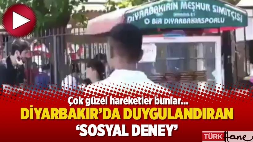 Diyarbakır'da duygulandıran 'sosyal deney'