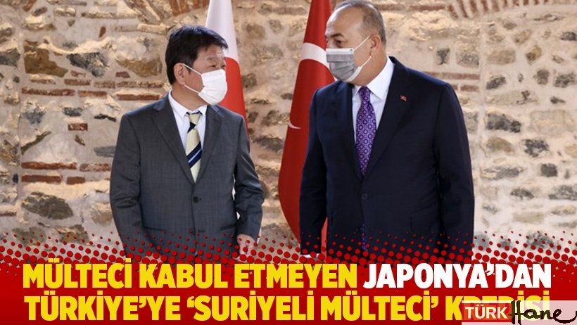 Mülteci kabul etmeyen Japonya'dan Türkiye'ye 'Suriyeli mülteci' kredisi
