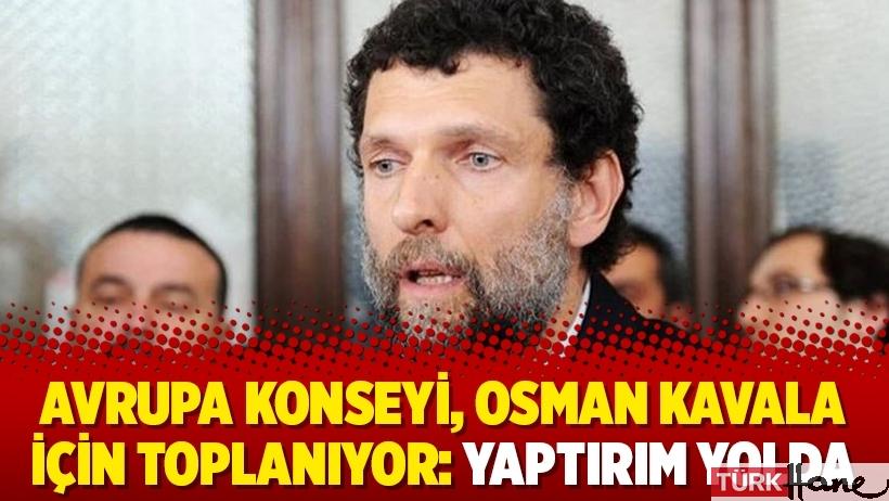 Avrupa Konseyi, Osman Kavala için toplanıyor: Yaptırım yolda